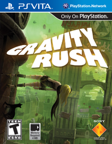 Box art for the game Gravity Rush
