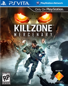 Box art for the game Killzone Mercenary