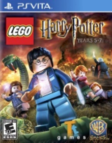 Box art for the game LEGO Harry Potter: Years 5-7