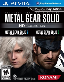 Box art for the game Metal Gear Solid 2: Sons of Liberty HD