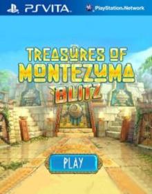 Box art for the game Treasures of Montezuma Blitz