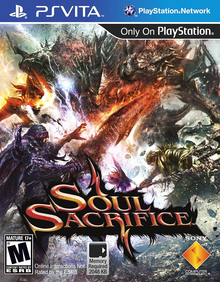 Box art for the game Soul Sacrifice