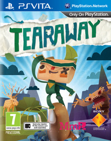 Box art for the game Tearaway