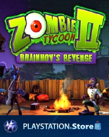 Box art for the game Zombie Tycoon II: Brainhov's Revenge
