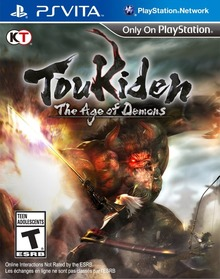 Box art for the game Toukiden