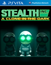 Box art for the game Stealth Inc: A Clone in the Dark