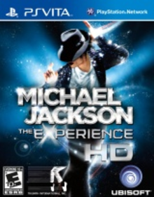 Box art for the game Michael Jackson: The Experience HD