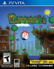 Box art for the game Terraria