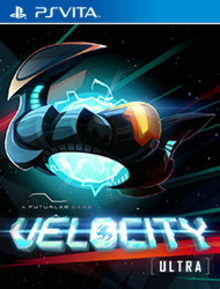 Box art for the game Velocity Ultra