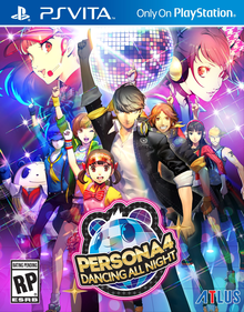 Box art for the game Persona 4: Dancing All Night