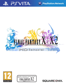 Box art for the game Final Fantasy X | X-2 HD Remaster