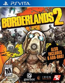 Box art for the game Borderlands 2