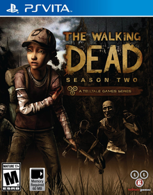 Box art for the game The Walking Dead: Season Two