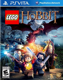 Box art for the game LEGO: The Hobbit