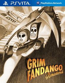 Capa do jogo Grim Fandango