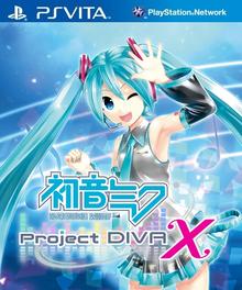 Box art for the game Hatsune Miku: Project Diva X