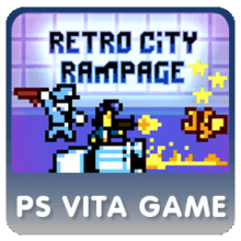 Box art for the game Retro City Rampage