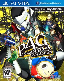 Box art for the game Shin Megami Tensei: Persona 4 Golden