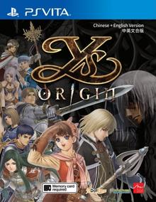 Capa do jogo Ys Origin