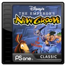 Box art for the game The Emperor's New Groove