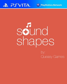 Box art for the game Sound Shapes