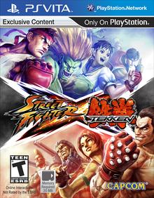 Box art for the game Street Fighter x Tekken