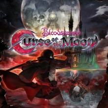 Box art for the game Bloodstained: Curse of the Moon