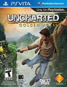 Box art for the game Uncharted: Golden Abyss