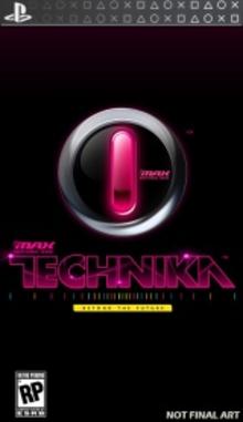 Capa do jogo DJ Max -- Technika
