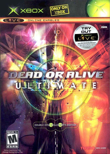 Box art for the game Dead or Alive Ultimate