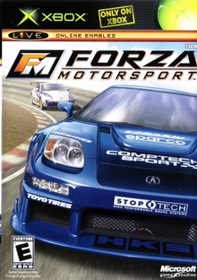 Box art for the game Forza Motorsport
