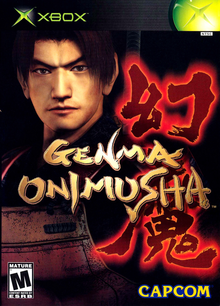 Box art for the game Genma Onimusha