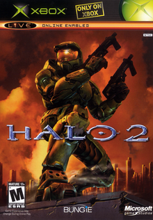 Box art for the game Halo 2