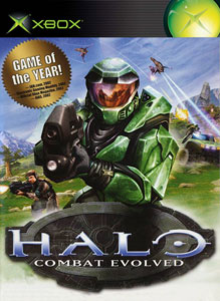Box art for the game Halo: Combat Evolved