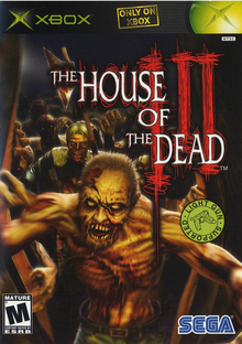 Box art for the game The House of the Dead III