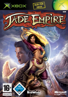 Box art for the game Jade Empire