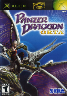 Box art for the game Panzer Dragoon Orta