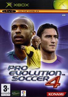 Box art for the game Pro Evolution Soccer 4