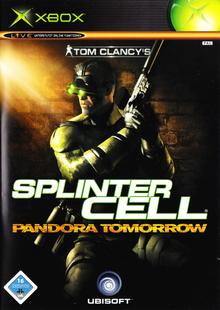 Box art for the game Tom Clancy's Splinter Cell Pandora Tomorrow