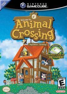 Box art for the game Animal Crossing