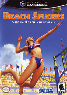 Box art for the game Beach Spikers