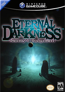 Box art for the game Eternal Darkness: Sanity's Requiem