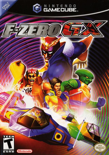 Box art for the game F-Zero GX