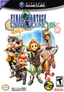 Box art for the game Final Fantasy Crystal Chronicles