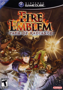 Box art for the game Fire Emblem: Path of Radiance