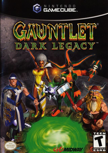 Box art for the game Gauntlet: Dark Legacy
