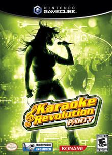 Box art for the game Karaoke Revolution Party