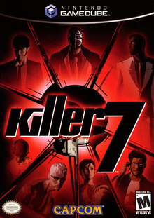 Box art for the game Killer 7