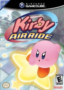 Box art for the game Kirby Air Ride