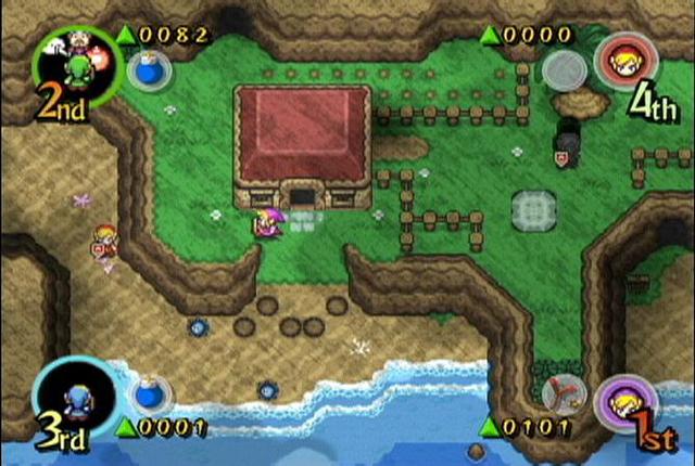the legend of zelda four swords adventures gamecube alvanista